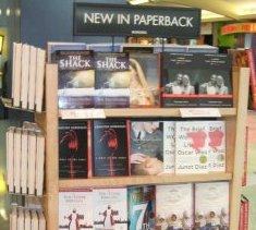 Borders bookshelf